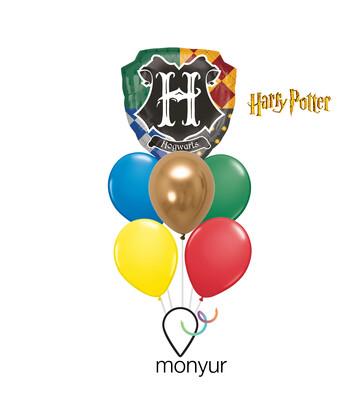 Hogwarts Harry Potter Balloon Bouquet