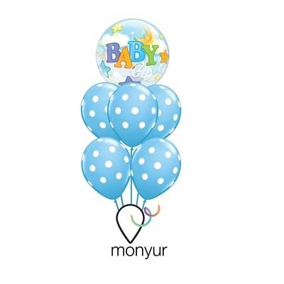 Boy Balloon Bouquet