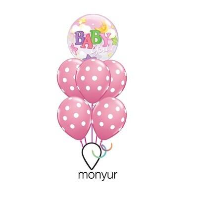 Girl Balloon Bouquet