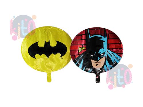 "Globo 18  ""Ovalado Batman""con helio"