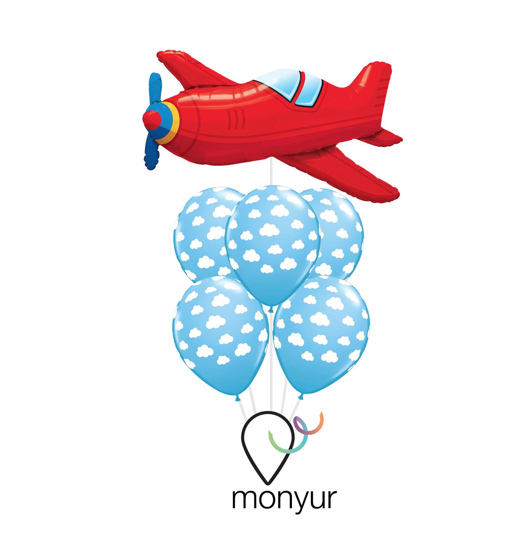 Airplane Mode Bouquet de Globos