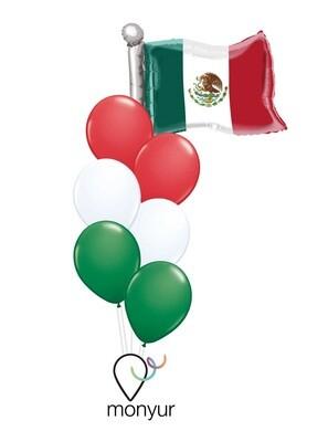 Viva México Balloons Bouquet