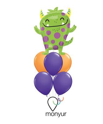 My Favorite Monster Balloon Bouquet