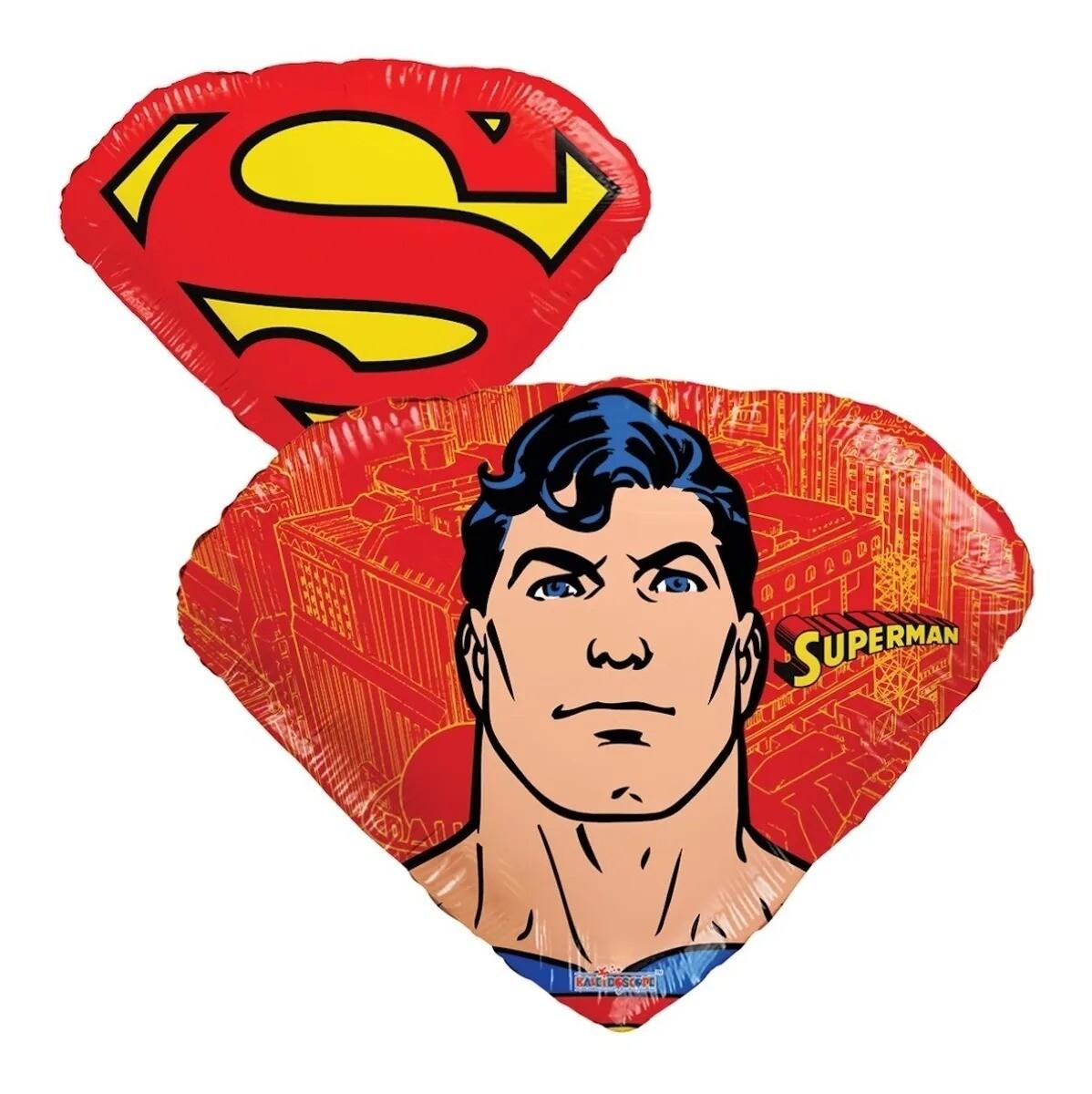 Globo 18  Superman con helio