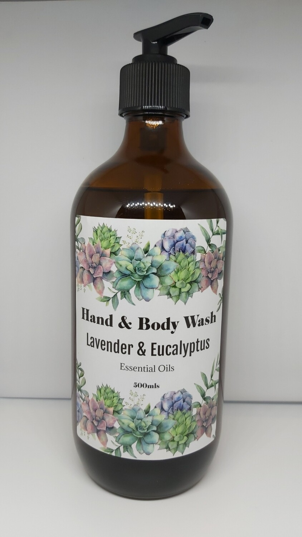 Hand & Body Wash - Lavender & Eucalyptus