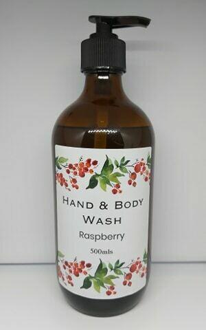 Hand & Body Wash - Raspberry