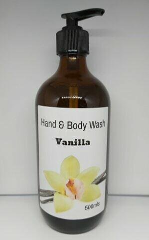 Hand & Body Wash - Vanilla