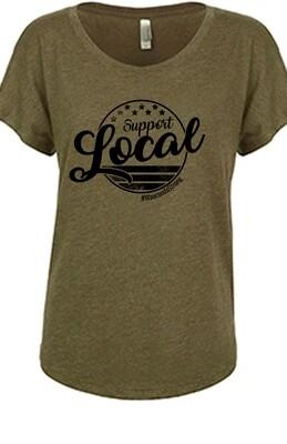 SL Circle Design Women's T-shirt