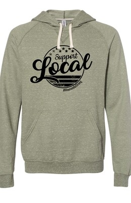 SL Circle Design Hoodie
