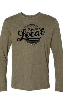 SL Circle Design Long Sleeve T-shirt