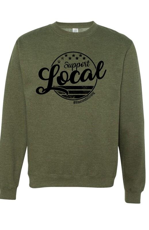 SL Circle Design Sweatshirt