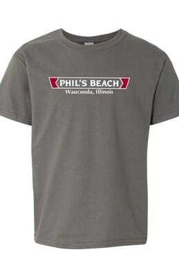 Phil's Beach Youth T-shirt