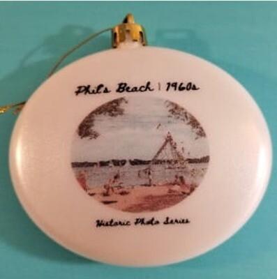 Phil's Beach Ornament