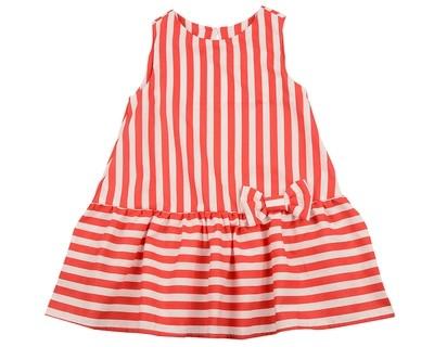 Платье (98-122см) UD 6344(2)красн.полос