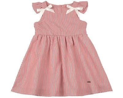 Платье (98-122см) UD 6410(1)крас.полос