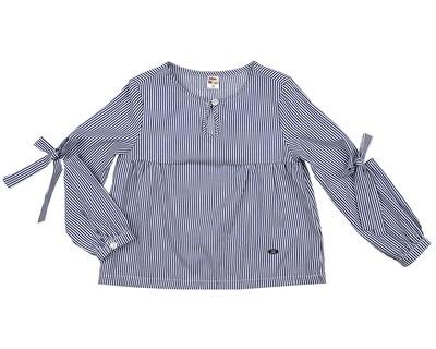 Блузка в полоску (98-122см) UD 4920(1)синий