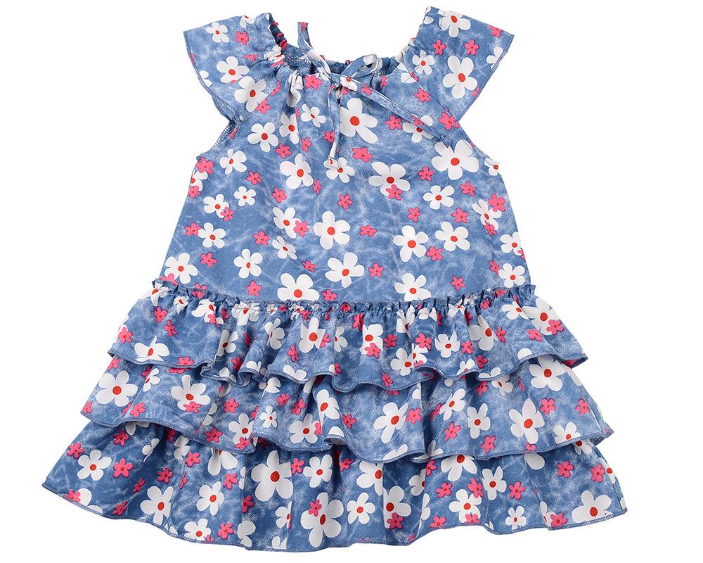 Платье (80-92см) UD 6439(2)св.син/розов