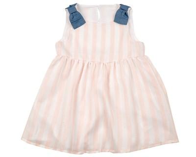 Платье (80-92см) UD 6537(1)роз полоса