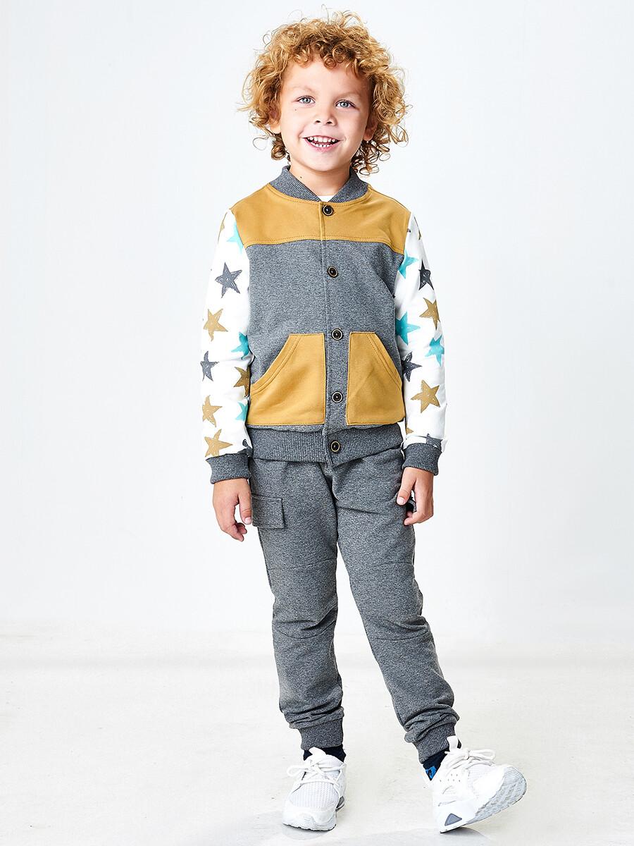 UD 4524(1)графит  Mini Maxi Куртка (98-116см)