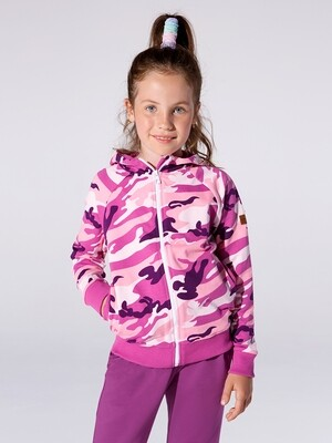 Бомбер (куртка) (122-146см) UD 3530 лиловый