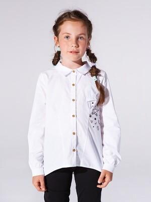Сорочка (рубашка) (98-122см) UD 4971(1)белый