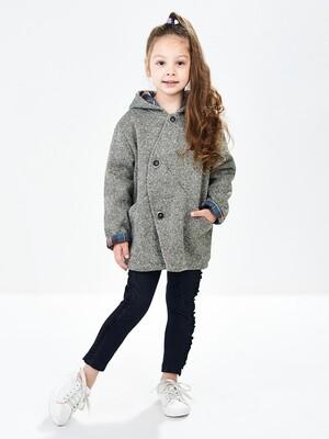 Куртка (пальто) (92-116см) UD 4941(1)хаки