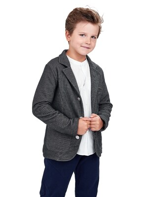 Джемпер (пиджак) (152-164см) UD 5140(1)т.серый