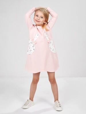 Платье (98-116см) UD 4985(1)розовый