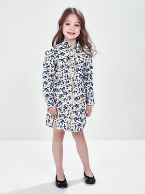 Платье (98-122см) UD 6365(1)гол.цветы