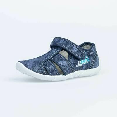 421021-16  Котофей Текстильные сандали оптом, размеры 26-33