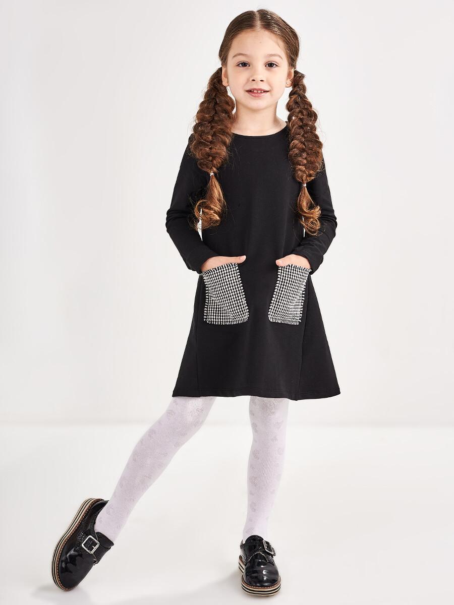 Платье (128-146см) UD 6819(2)черный