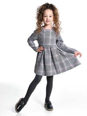 Платье (98-122см) UD 6367(1)серый