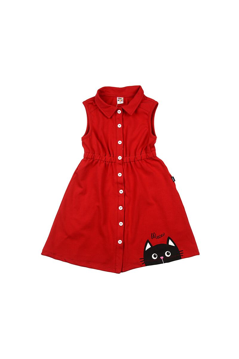 UD 4627(1)красный  Mini Maxi Платье (98-122см)