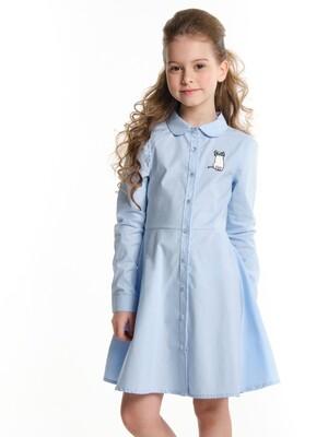 Платье (122-146см) UD 6544(1)голубой