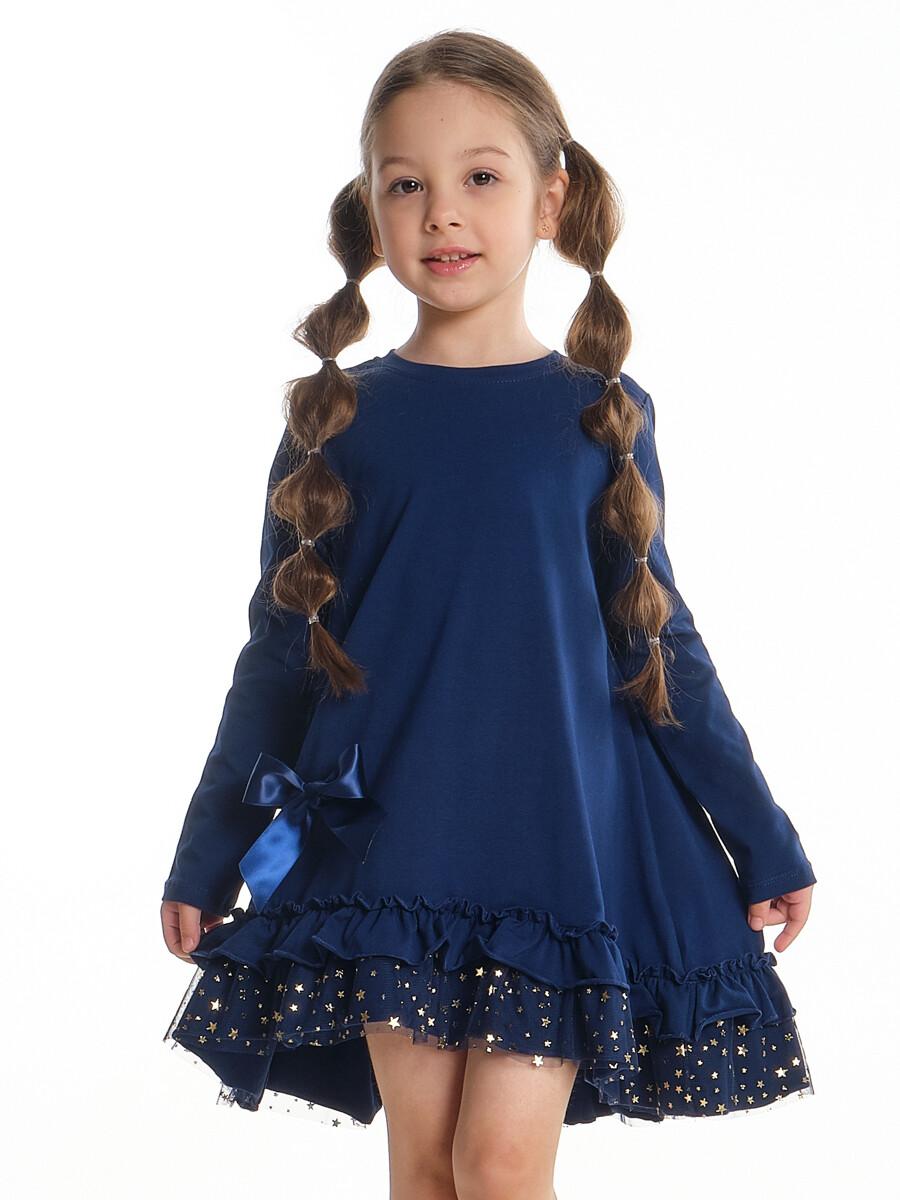 Платье (98-116см) UD 6806(3)синий