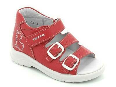 1142-КП-2 (грейпфрут) ТОТТА Туфли открытые оптом, размеры 27-31