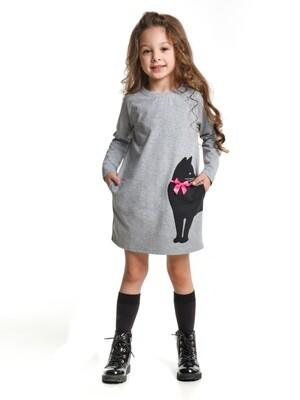 UD 4311(2)серый  Mini Maxi Платье (98-116см)