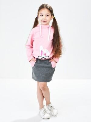 UD 3812/3813(1)роз  Mini Maxi Комплект для девочки (92-116см)