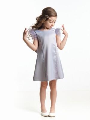 Платье (98-122см) UD 6935(1)серый