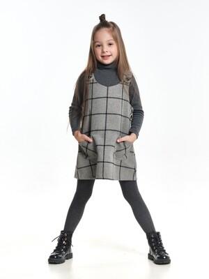 Платье-сарафан (98-116см) UD 6974(1)серый