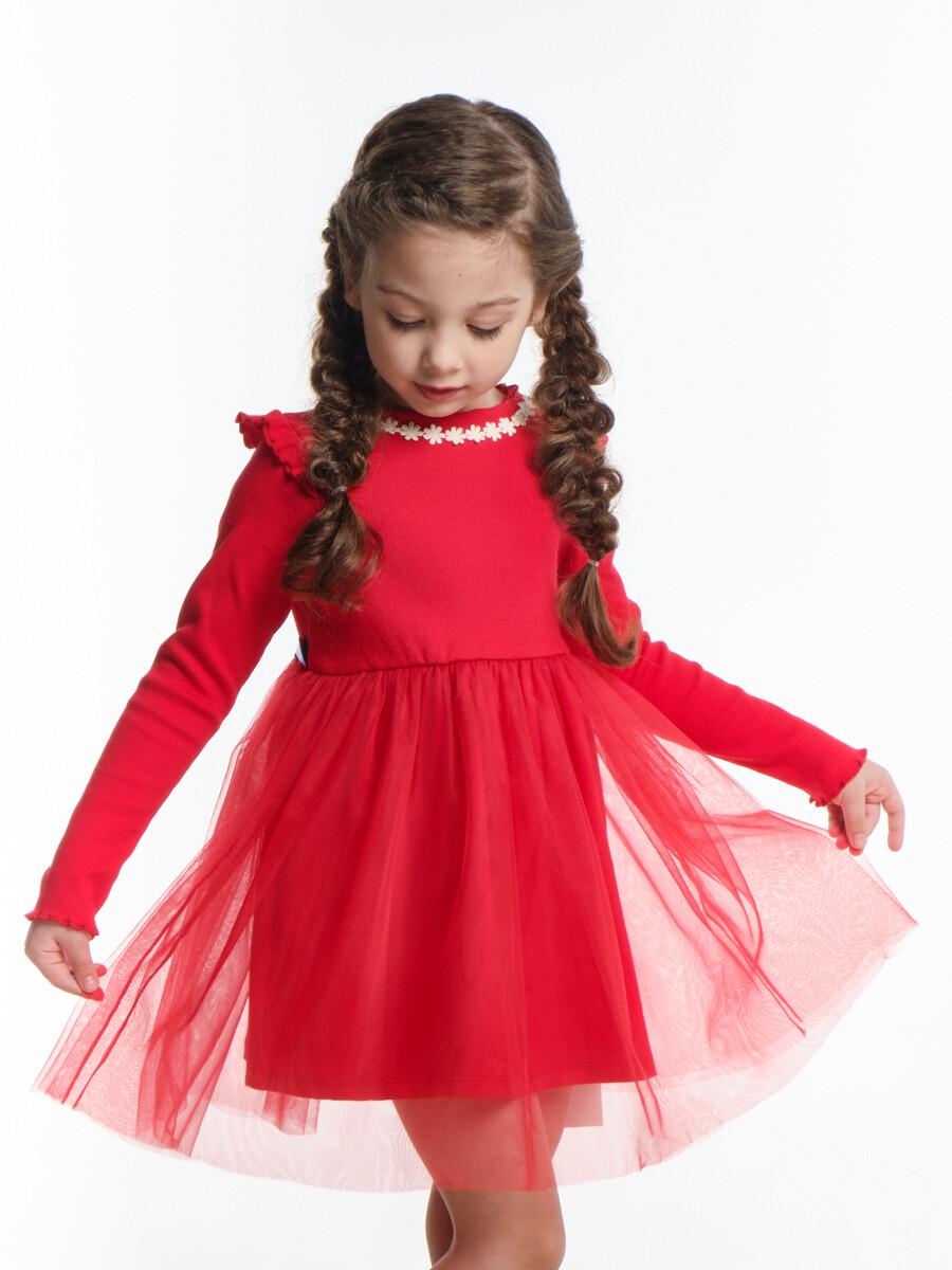 Платье (98-116см) UD 6003(1)красный