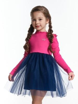 Платье (98-116см) UD 6003(2)мал/син