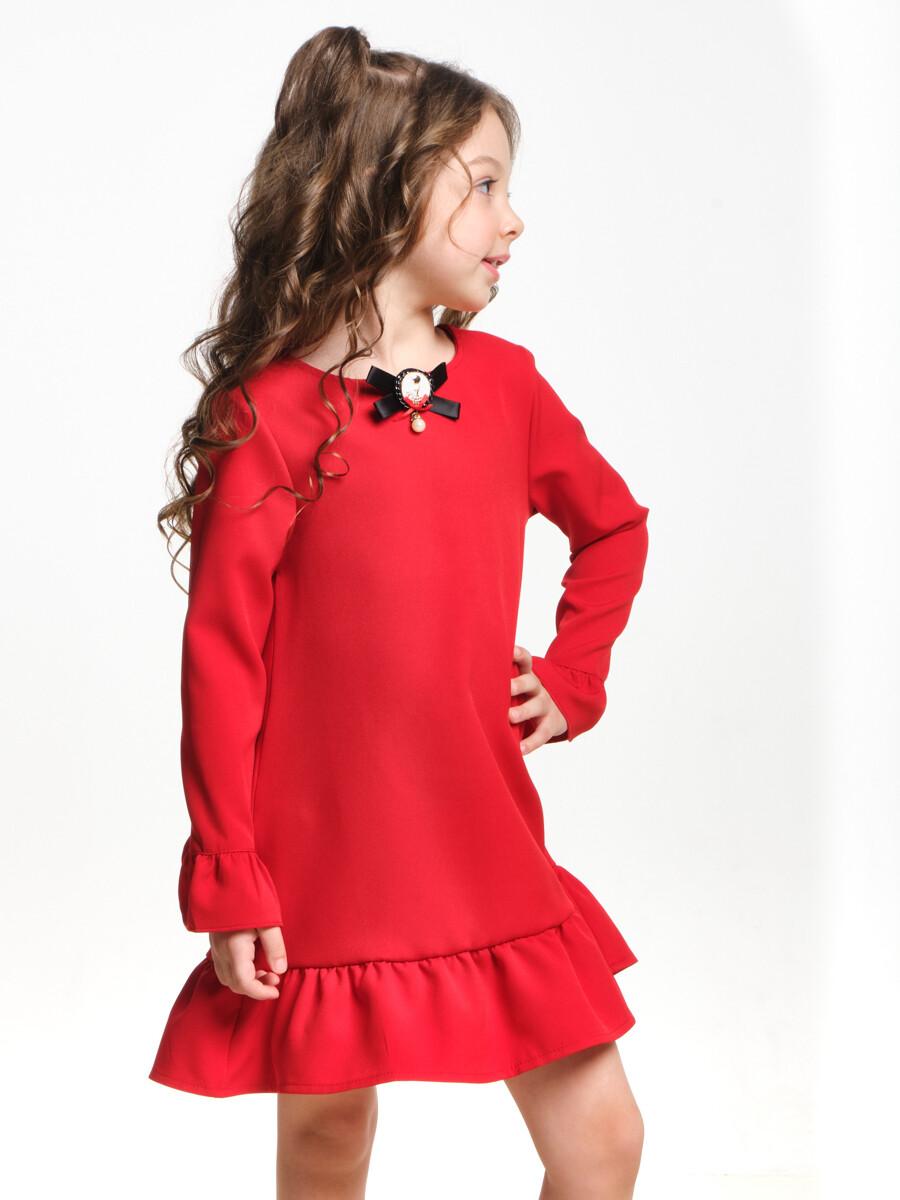 Платье (98-122см) UD 6982(2)красный