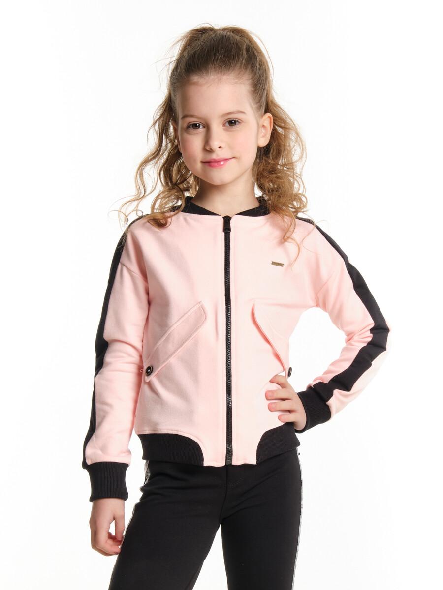 UD 4360(1)розовый  Mini Maxi Бомбер (куртка) (92-116см)