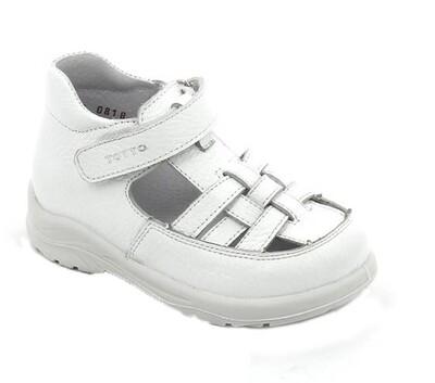 092-06 (белый) ТОТТА Туфли открытые оптом, размеры 23-26