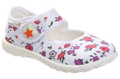 3-215TF Туфли текстильные Ecotex Слипоны оптом, размеры 23-30