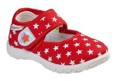3-210TF Туфли текстильные Ecotex оптом, размеры 23-30