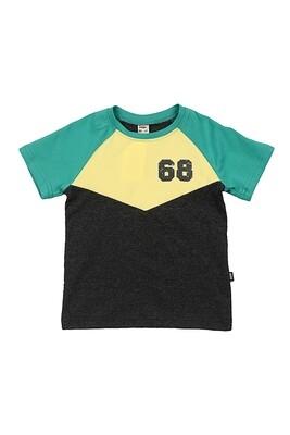 Футболка с принтом (98-116см) UD 0785(2)зелен