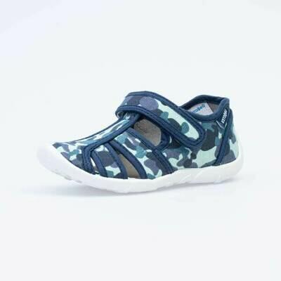421062-11 Котофей Текстильные сандали оптом, размеры 26-33