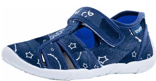 421056-11 Котофей Текстильные сандали оптом, размеры 26-31